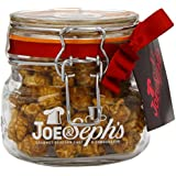 Joe & Seph's Kilner Jar of Caramel with Belgian Chocolate Popcorn