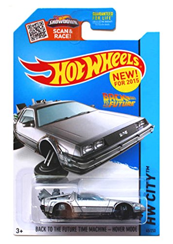 Hot Wheels - Back to the Future Time Machine - Hover Mode (Long Card) by Hot Wheels