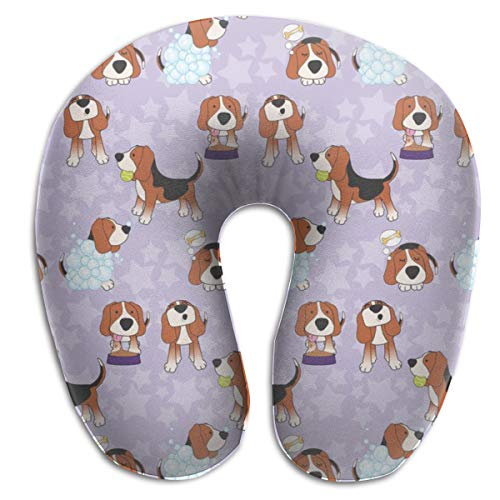 Travel Pillow,America's Top Dog Memory Foam U Neck Pillow for Lightweight Support In Airplane,Car,Train,Bus Lightweight Boot Top
