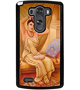 ColourCraft Amazing Painting Design Back Case Cover for LG G3