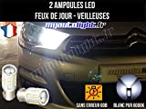 MyAutoLight - Coffret Ampoules Led Voiture - Veilleuses - Blanche Xénon Pour C4 II - Feux de Jour - Position