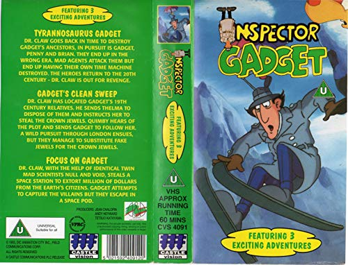 Preisvergleich Produktbild Inspector Gadget [VHS] [UK Import]