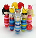 Fiesta Crafts Royal Wooden Skittles Activity Toy - Best Reviews Guide