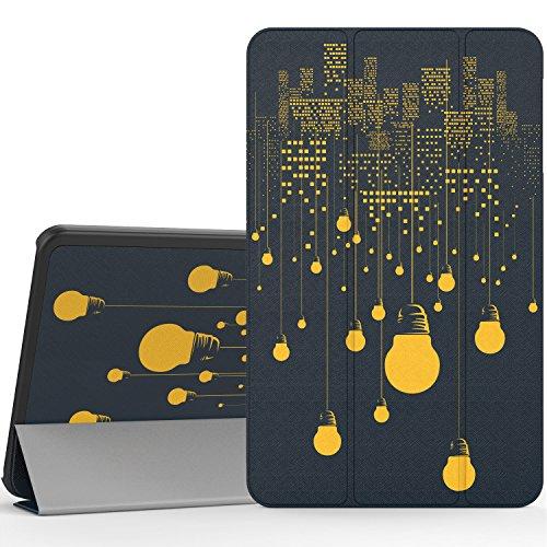 MoKo Samsung Galaxy Tab A 10.1 Hülle - Ultra Lightweight Slim PU Leder Schutzhülle Smart Case mit Standfunktion und Auto Sleep / Wake Up Funktion für Samsung Galaxy Tab A 10.1 Zoll (2016) Wi-Fi/ LTE T580N / T585N Tablet-PC, Nachtlicht