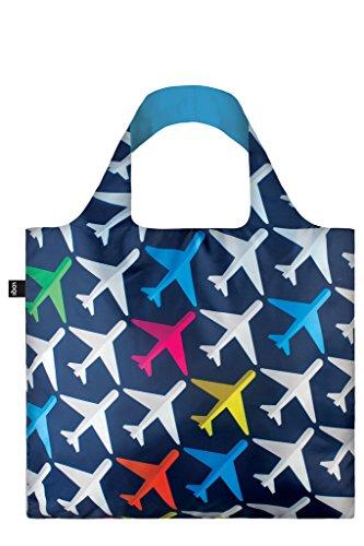 LOQI Artist Airport Airplane Bag Borsa da spiaggia, 50 cm, 20 liters, Multicolore (Multicolour)