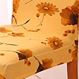 Magideal Dining Chair Covers Chair Protector Stretch Slipcover Banquet Decor-Daisy