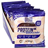 Justine's Double Chocolate Dream Brownie, Soft Baked High Protein Healthy Snack Cookie, Ultra Low Carb, No Added Sugar, Gluten Free, Wheat Free, Made in New...
