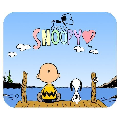 Christmas Gifts Peanuts Snoopy High Quality Printing Square Mouse Pad Design Your Own Computer Mousepad