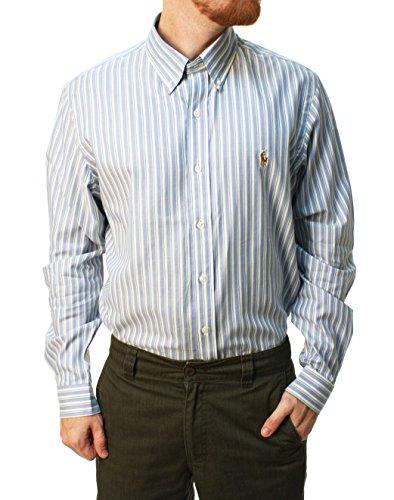 Polo Ralph Lauren Männer langärmeliges Knopf unten Kleid Hemd 16.5 32/33 (Polo Ralph Lauren-männer Knopf)