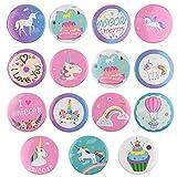 Tuparka Unicorn Pin Badges