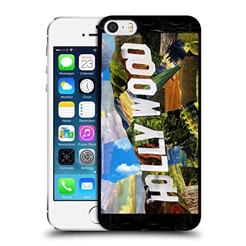 Ufficiale ArtPopTart New York Viaggi Cover Retro Rigida per Apple iPhone 6 / 6s Hollywood