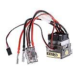 MagiDeal ESC 1A 320A Brossé Bidirectionnel avec Ventilateur Etanche pour RC Voiture...
