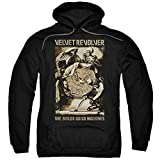 Velvet Revolver Rock Band She Builds Quick Machines Adult Pull-Over Hoodie