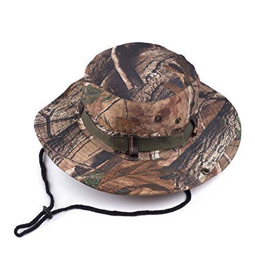 visière/printemps et en été la plage en plein air casquette pour hommes/Chapeau d'été/Camouflage Caps/chapeau soleil pliable soleil B