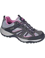 Trespass - Zapatillas de running / correr con cordones Modelo Jamima Mujer Señora - Deporte/Running/Gym