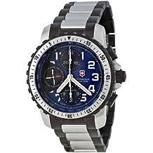 Victorinox Alpnach 241194 - Reloj cronógrafo automático para hombre, correa de acero inoxidable multicolor (cronómetro)