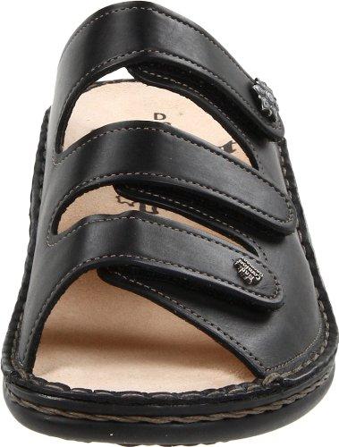 Finn Comfort Menorca-Soft, Sabots femme Noir (Black - black)