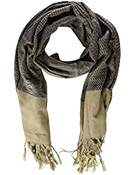 Scalpers Ethnic, Pashmina para Hombre, Beige, UNICA