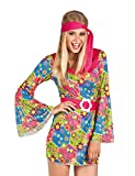"Costume ""Flower Power Hippie Party"" 3 pcs."