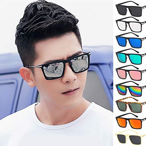SQYJING Sonnenbrille Platz Sonnenbrille für männer Vintage Frauen geformt Sonnenbrille Farbe Sonnenschirm Brillen Brille zonnebril, 06-16 vu