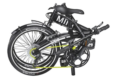 MINI Folding Bike Black - 2