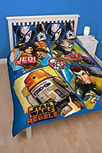 Star Wars Rebels Tag Double housse de couette et taie