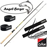 DAM Effzett Classic Spin Spinnrute alle Modelle mit Angel Berger Rutenband (2,10m / 5-15g)