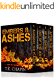 Inspirational Christian Fiction Boxed Set: Embers and Ashes Series (Books 1 - 4)