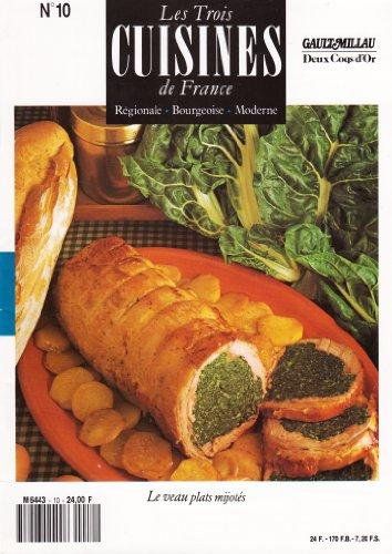 Les trois cuisines de france. regionale, bourgeoise, moderne. n°1. hors d'oeuvres de legumes.