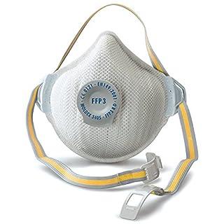 Moldex MOL3405 Atemschutzmaske Air Plus FFP3 R D mit Klimaventil 5 Stück