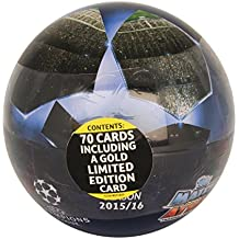 Match Attax Champions League 15/16 Ball with 69 Player Cards + Limited Card by Match Attax