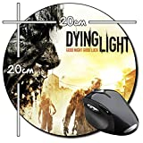 Dying Light Tappetino Per Mouse Tondo Round Mousepad PC
