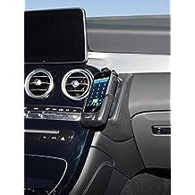 Kuda–Consola de teléfono para (LHD) para Mercedes GLC a partir de 2016X253piel sintética NEGRO