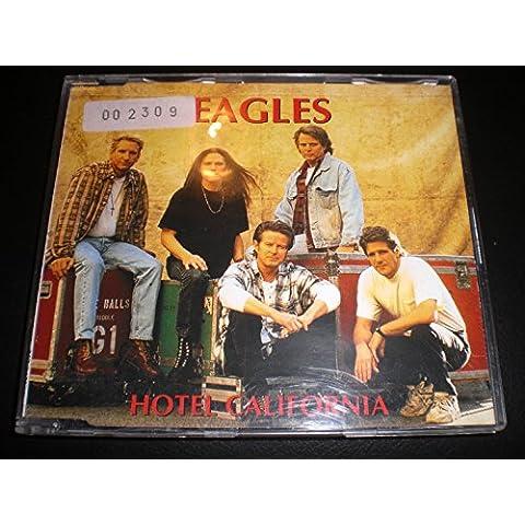 EAGLES HOTEL CALIFORNIA CD SINGLE PROMOCIONAL ESPAÑA 1995