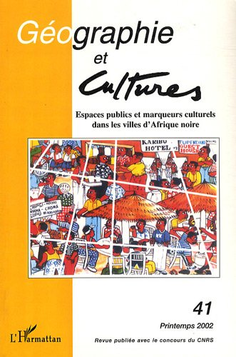 Espaces Publics et Marqueurs Culturels Dans les Villes