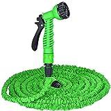 Die besten erweiterbar Gartenschlauch - Magic Flexibler Gartenschlauch Pipe Set Bewässerung Spray Gun Bewertungen