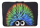 MySleeveDesign Laptoptasche Notebooktasche Sleeve für 10,2 Zoll / 11,6-12,1 Zoll / 13,3 Zoll / 14 Zoll / 15,6 Zoll / 17,3 Zoll - Neopren Schutzhülle mit VERSCH. DESIGNS - Creature [14]