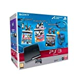 Console PS3 320 Go noire + Move Starter Pack + Sports Champions + DanceStar Party + Medieval Moves