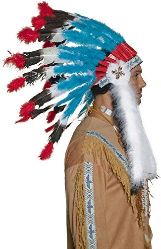 Imagen 2 de Smiffy's - Peluca de indio del oeste para hombre, talla única (196736)