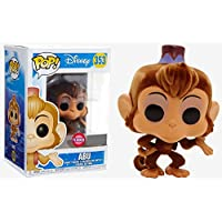 Funko Pop Disney Aladdin Abu Exclusive 353 (Flocked) + Pop Beschützer