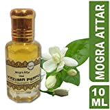 Kazima Mogra Attar Perfume Natural Undiluted (Non-Alcoholic) (10 ml)