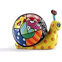 Romero Britto Mini Figur - Schnecke - Pop Art aus Miami - #334450