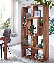 DEMIWALL Sheesham Wood Storage Bookcase Shelves and Display Rack Shelf for Home Living Room Study Room