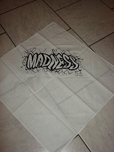 Kopftuch Macho Man Shattered weiß