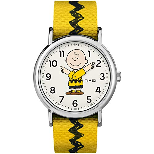 Timex Weekender Peanuts Collection One Size Charlie Brown (Kinder-armbanduhr Timex)