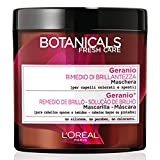 L'Oréal Paris Botanicals Geranio Rimedio di Brillantezza, Maschera per Capelli Colorati o Spenti, 200 ml