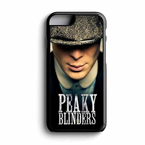 BigBazza Schutzhülle für iPhone 5 / 5S / SE, Motiv Peaky Blinders Gang TV-Show, inkl. Displayschutzfolie und Reinigungstuch, Schwarz -