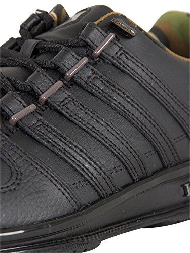 K-Swiss RINZLER SP, Sneakers Basses homme Noir (Black/gunmetal/camo)
