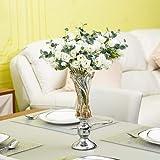 CMEI Vase Kreative Glasdekoration Hauptwohnzimmer Macht Vasencouchtisch-Dekorationsblume In Handarbeit