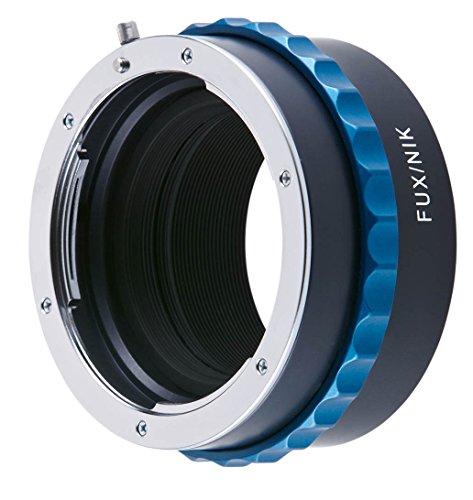 on Objektiv an Fuji X PRO Kamera ()